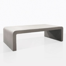 Maxwell Raw Concrete Coffee Table