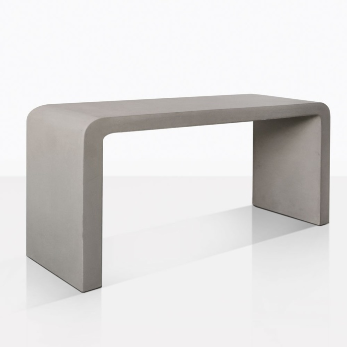 Maxwell Outdoor Concrete Console Table