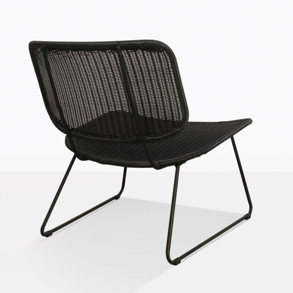 Polly Wicker Relaxing Chair Back