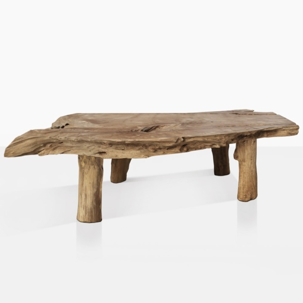River Teak Wood Natural Coffee Table