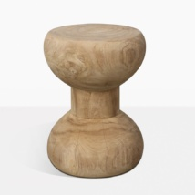 Bee Bee Raw Teak Accent Table