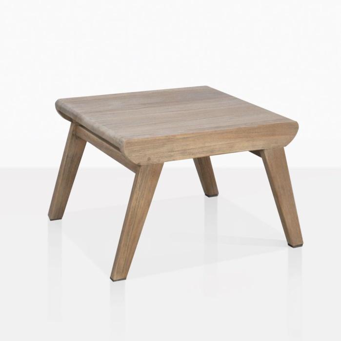 Gazzoni Teak Side Table Angle