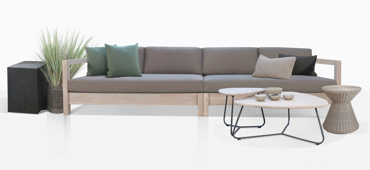 Kent Street Teak Sectional Sofa
