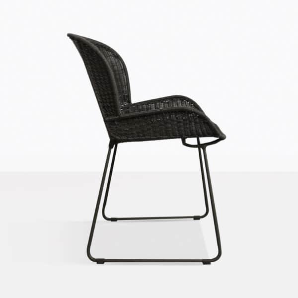 chair - side nairobi in black