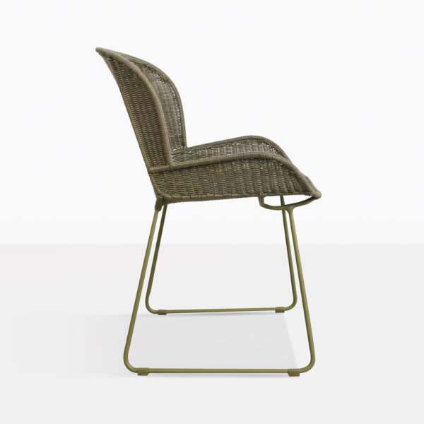 side nairobi chair - moss