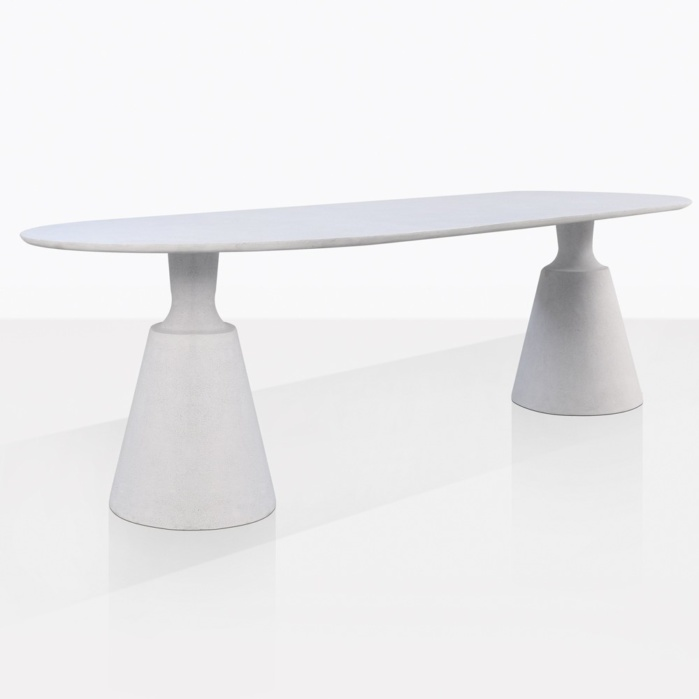 Vibe Concrete Oval Dining Table