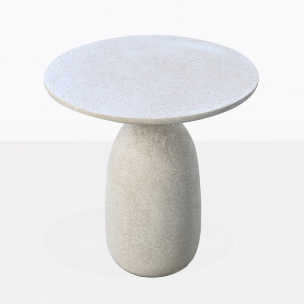 Mossimo Grey Round Concrete Side Table Top