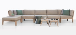 Gazzoni Teak And Rope Sectional Furniture Collection