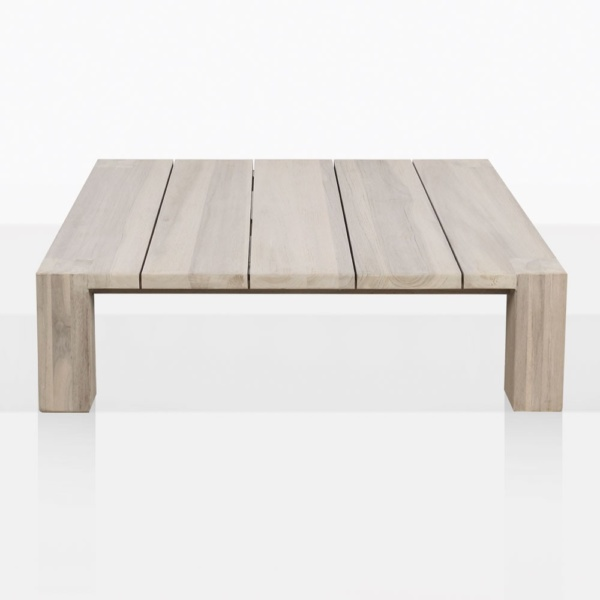 Kent Street Teak Low Squre Coffee Table