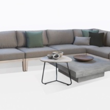 Masello Teak Sectional Furniture Collection