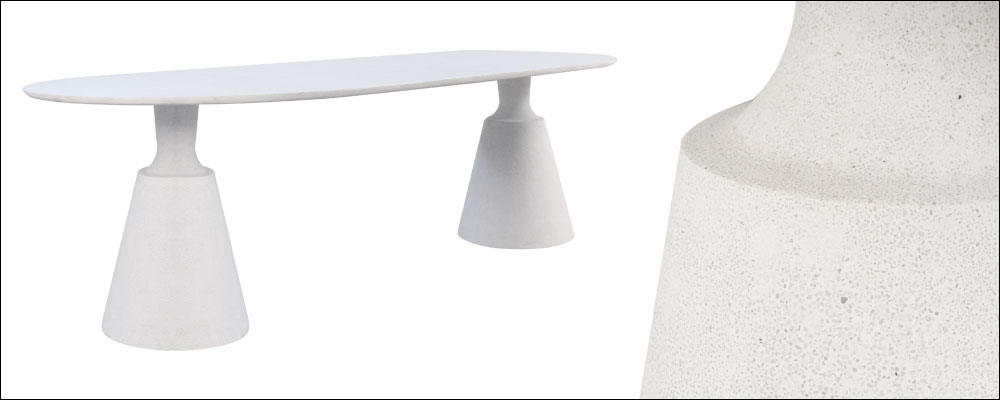 Vibe Concrete Outdoor Dining Table