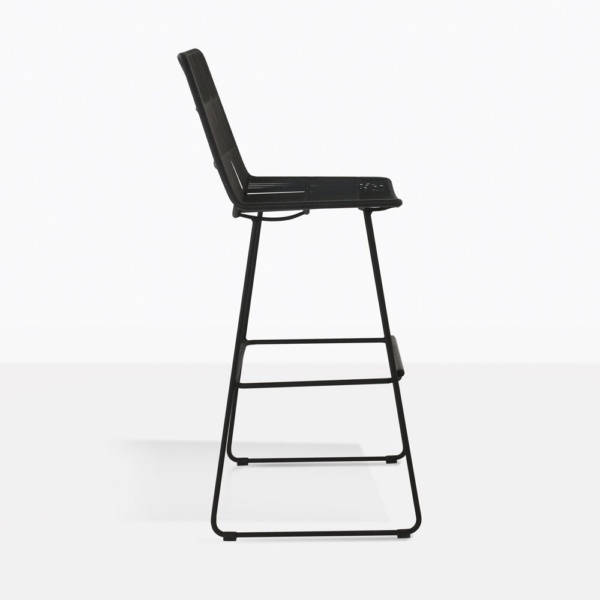 side black nairobi bar stool