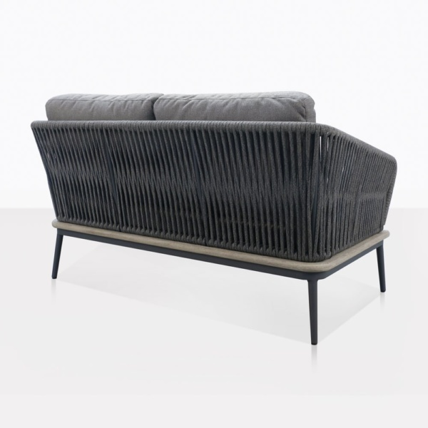 Oasis Rope Loveseat Back