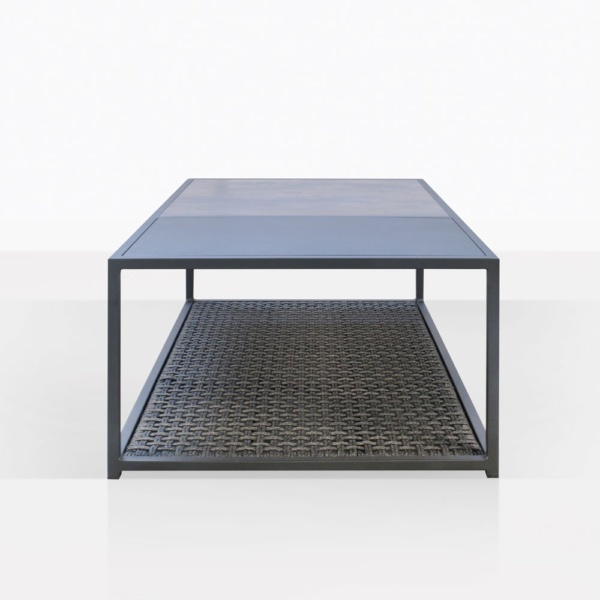 Studio Coal Outdoor Coffee Table End