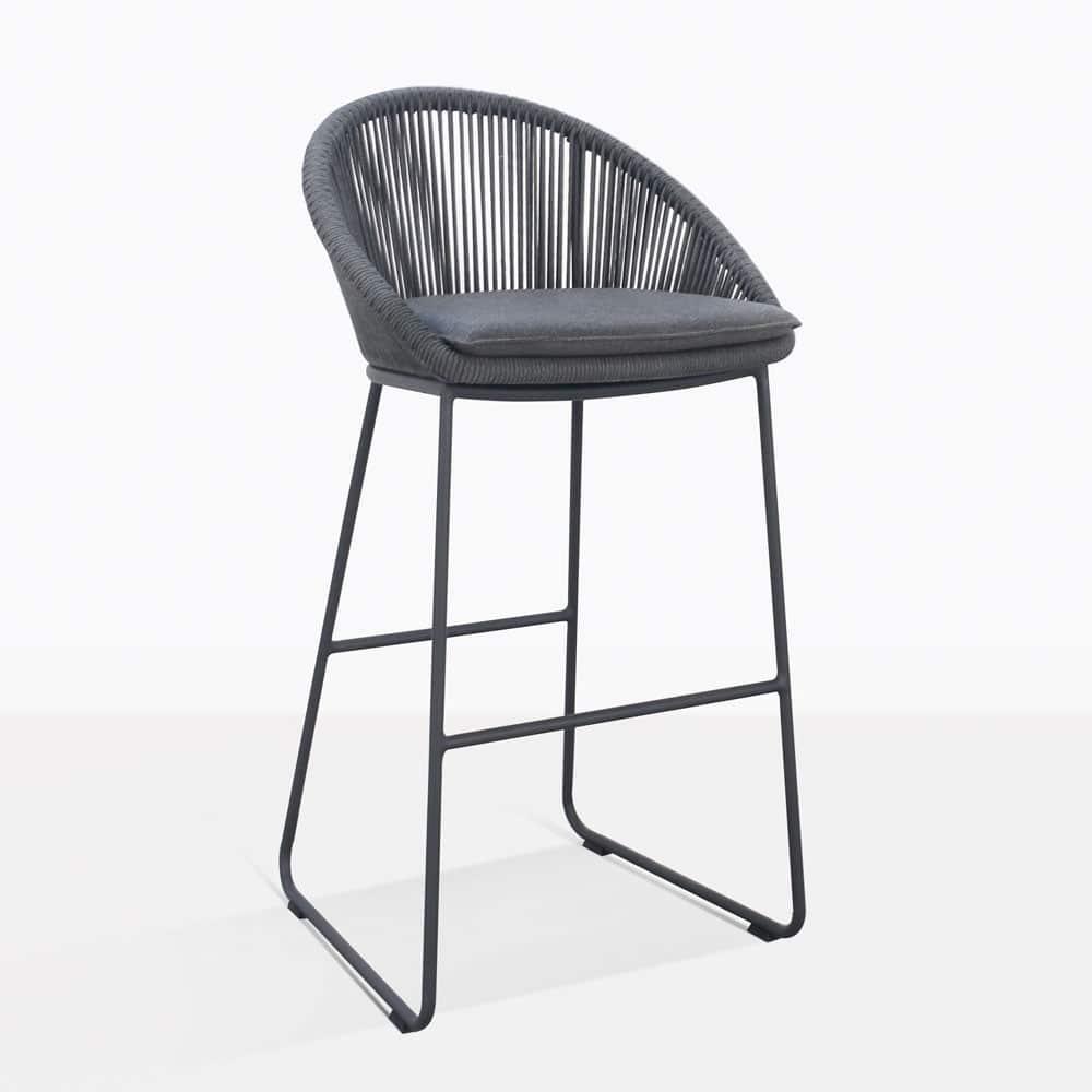 Astonishing Urban Outdoor Bar Stool Charcoal Coal Ibusinesslaw Wood Chair Design Ideas Ibusinesslaworg