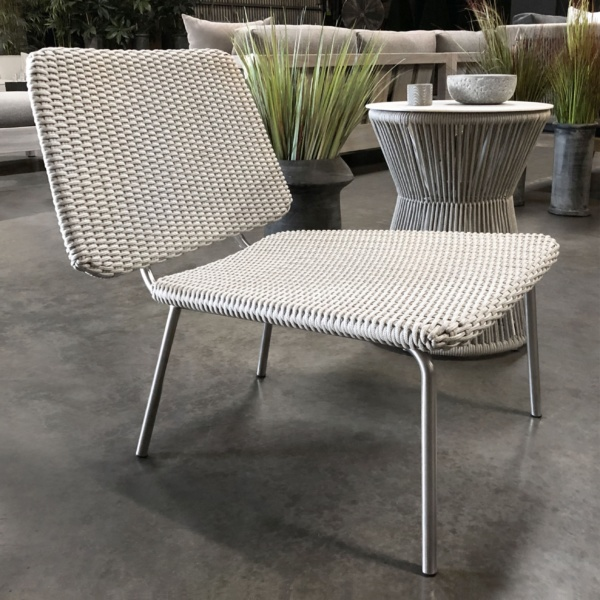 Summit woven rope relaxing chair