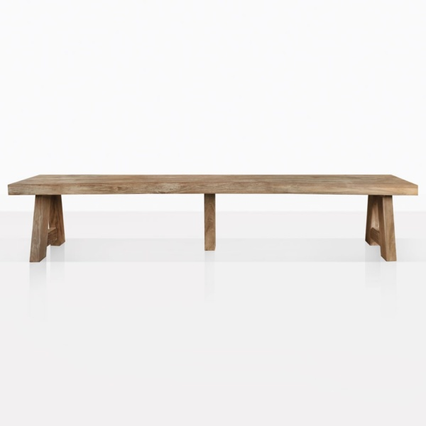 Hunter Reclaimed Teak Dining Backless Bench Side