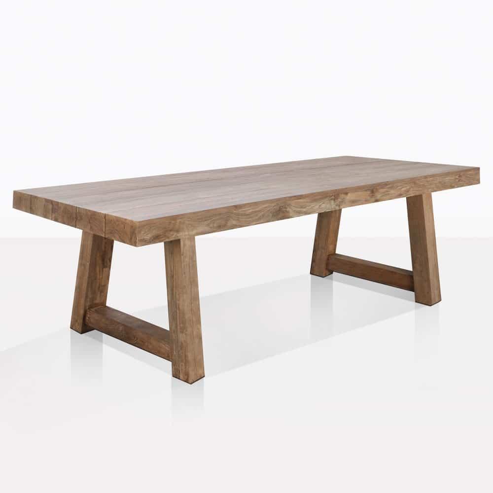 Hunter Dining Table | Reclaimed Teak | Outdoor Furniture ...