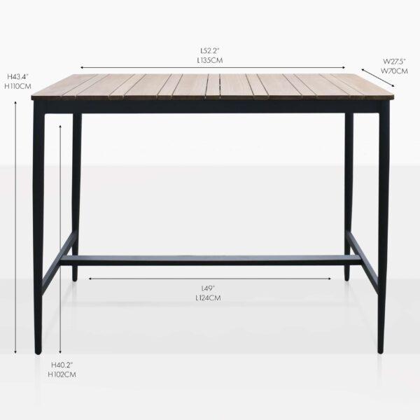 noble bar table