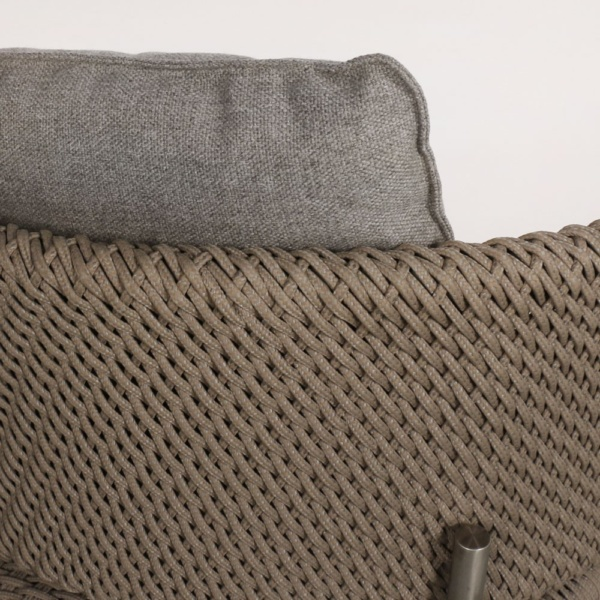 Studio Cyprus Rope Outdoor Dining Chair Closeup