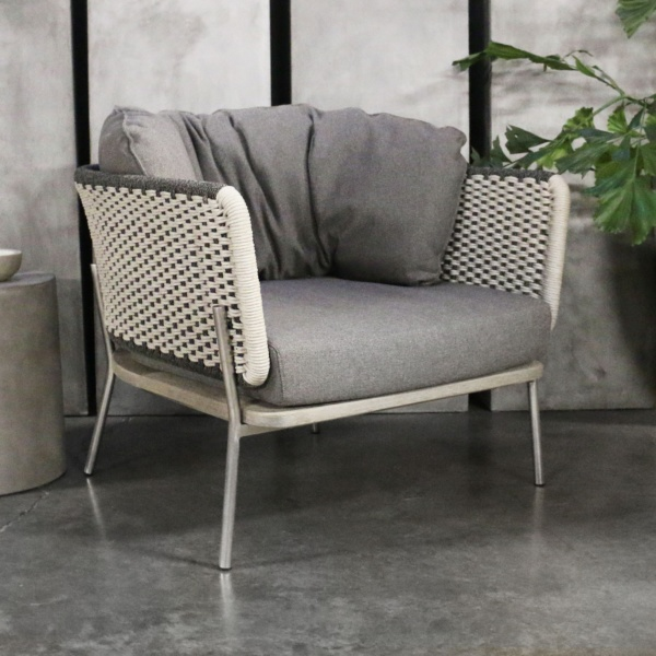 studio two tone relaxing chair