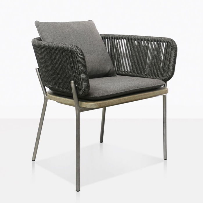 Studio Rope Dining Chair With Cushions