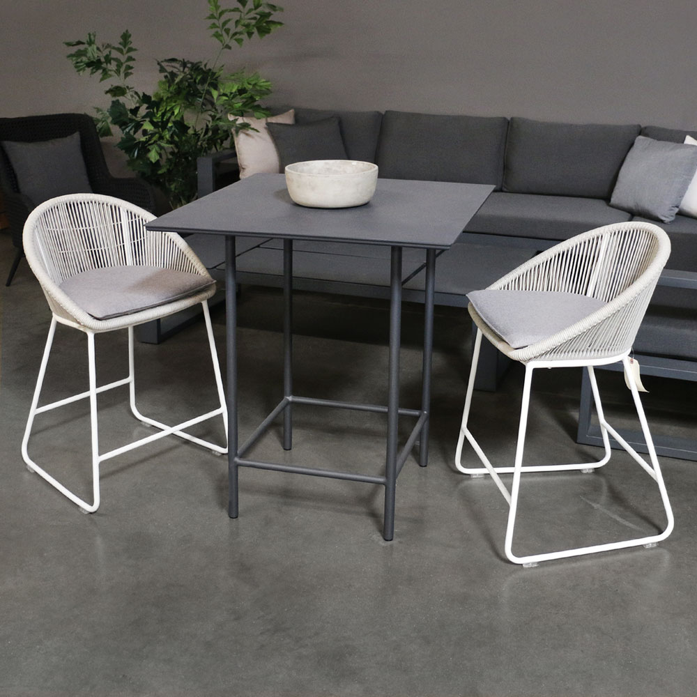 Urban Counter Height Table Patio Bar Furniture Teak