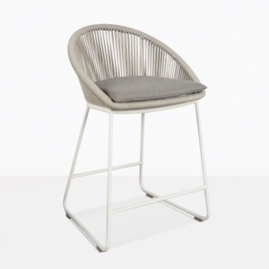 Urban Rope Outdoor Counter Height Stool