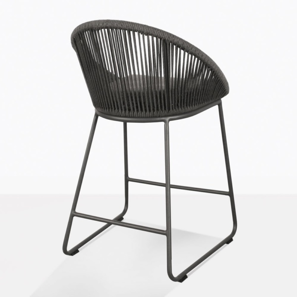 Urban Rope Outdoor Counter Stool Back