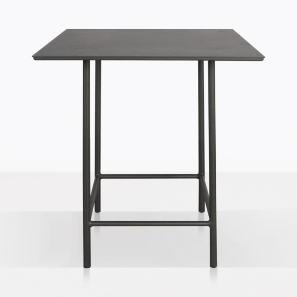 Urban Aluminum Outdoor Counter Hieght Table Square Side