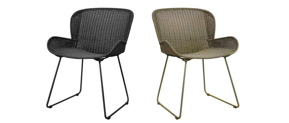 Nairobi Pure Wicker Dining Chairs