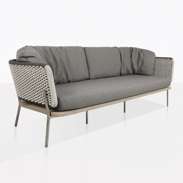 Studio Rope And Aluminum Sofa