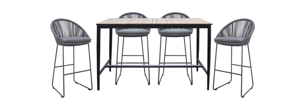 Urban Outdoor Bar Set - bar height table and chairs
