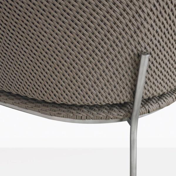 Studio Cyprus Rope Outdoor Lounge Chair Leg Closeup