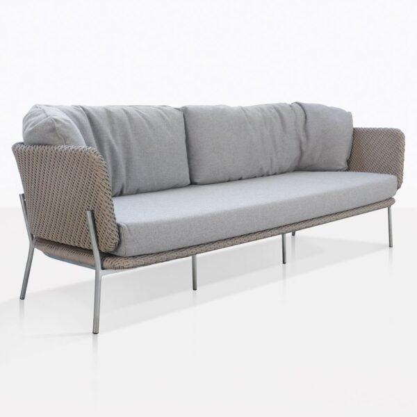 Studio Cyprus Rope Weave Outdoor Sofa