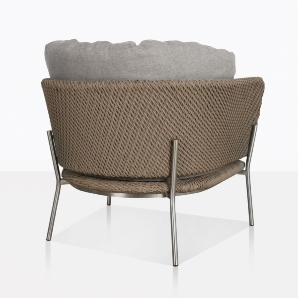 Studio Cyprus Rope Outdoor Relaxing Chair Back