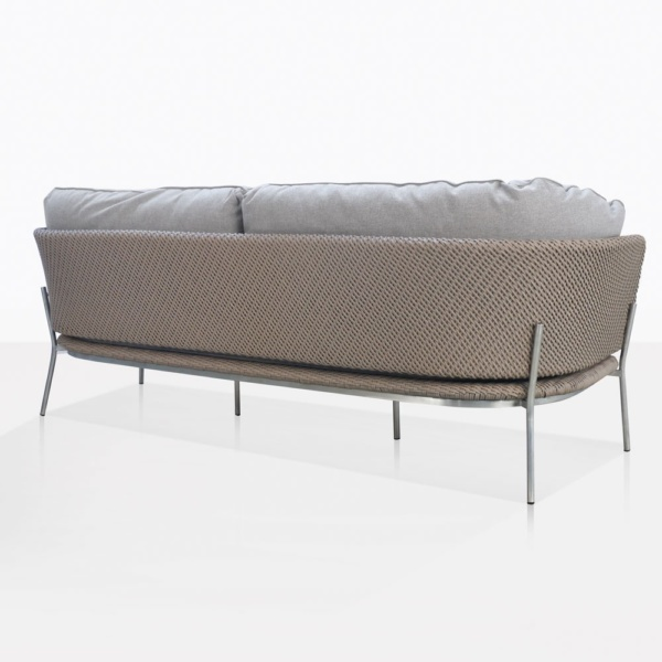 Studio Cyprus Rope Weave Outdoor Sofa Back