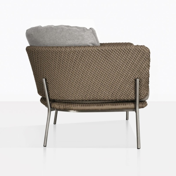 Studio Cyprus Rope Outdoor Relaxing Chair Side