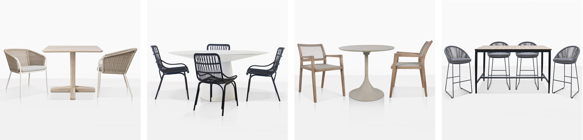 New Dining Sets By Teak Warehouse