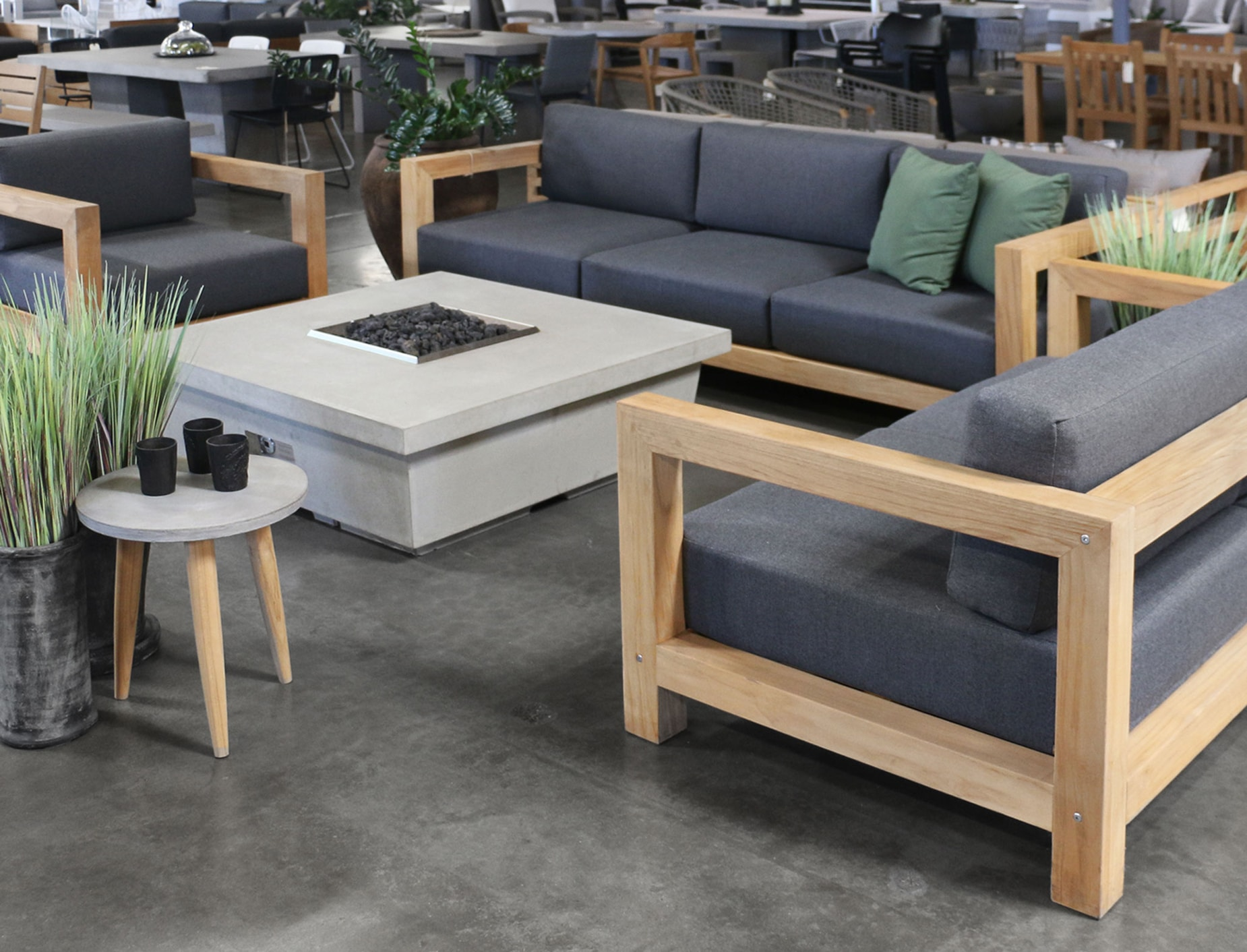 Ibiza Teak Furniture Collection At The Teak Warehouse Showroom