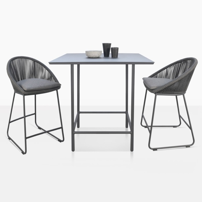 Urban Counter Height Stools And Counter Height Table For 2