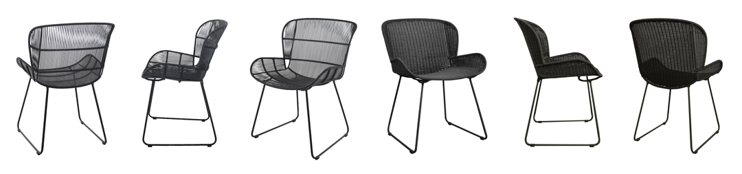 Nairobi Pure Wicker Dining Chairs