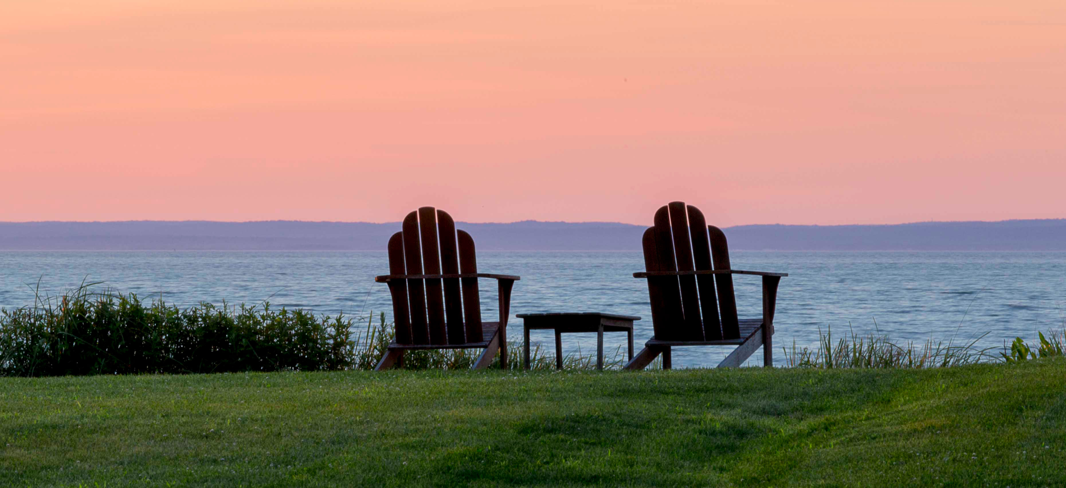 Adirondack Teak lounge chairs