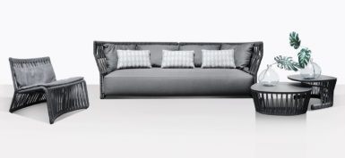 Portofino Rope And Aluminum Outdoor Furniture Collection