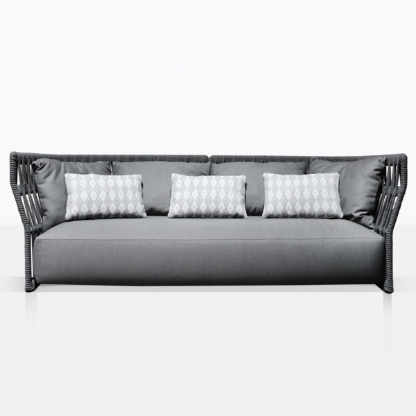 Portofino Sofa With Throw Pillows