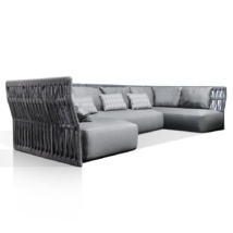 Portofino Sectional With Throw Pillows
