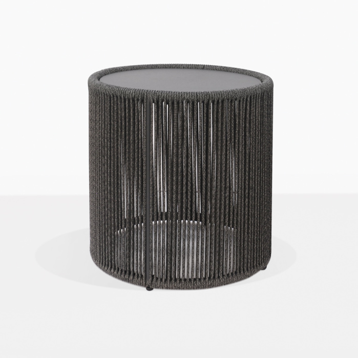 Benni Rope Round Outdoor Accent Table