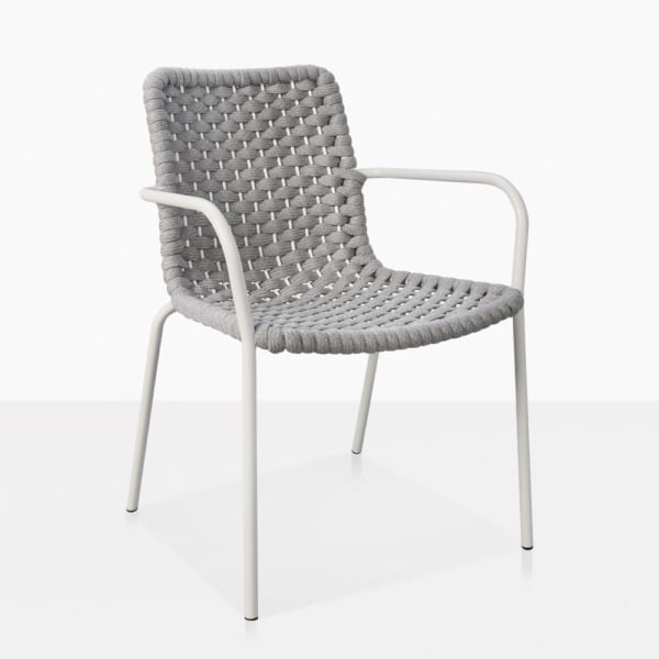 Kerri Rubber Rope Dining Arm Chair