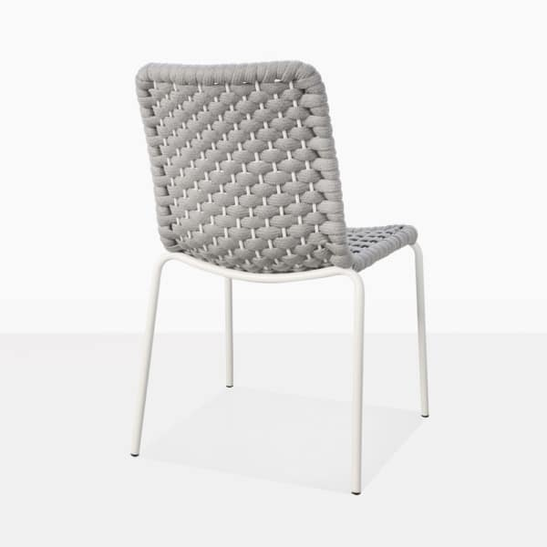 Kerri Rubber Rope Dining Side Chair Back