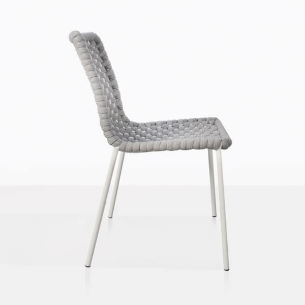 Kerri Rubber Rope Dining Side Chair Side